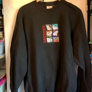 Snoopy through the ages sweatshirt